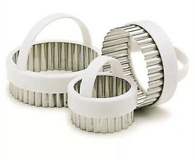 £5.75 • Buy Kitchen Craft Fluted Round Pastry Cutters KCPASTRY3