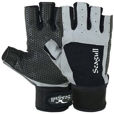 £13.99 • Buy Sailing Gloves Dinghy Yachting Roping Boating Amara Neoprene STICKY Palm C/F