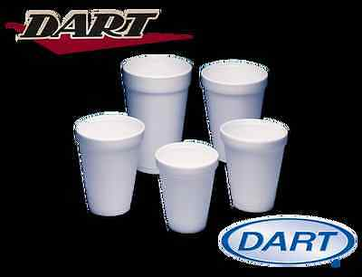 300 - 10oz WHITE FOAM / POLYSTYRENE DISPOSABLE PARTY CUPS + FREE P&P • 11.99£