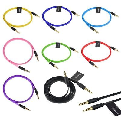 $2.29 • Buy Lot 3FT AUX Headphone 3.5mm Male To Male Car Jack Plug Cord Stereo Audio Cable