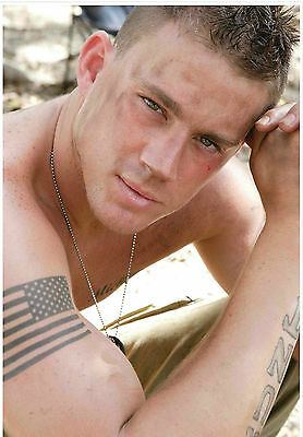 £4.99 • Buy A3 Channing Tatum Ct1 Poster Art Print Buy2get1free! White House Down/magic Mike