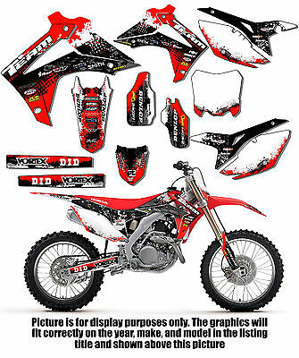 $99.99 • Buy 2002-2004 Honda Crf 450r Graphics Kit Decals Deco Stickers Crf450r 450 R 2003