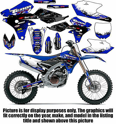 $79.99 • Buy 2003-2004 Yamaha Wr 250 450 Graphics Kit Decals Stickers 250f 450f Deco Wr250f