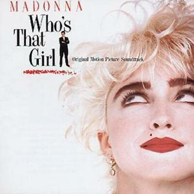 Madonna : Who's That Girl CD (1987) ***NEW*** FREE Shipping, Save £s • 6.62£
