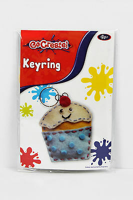 £2.06 • Buy Go Create Keyring - Make Your Own Cake Key Ring Great Stocking Filler Age 4+ New