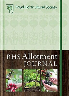 RHS Allotment Journal: The Expert Guide To A Productive Plot Hardback Book The • 3.99£