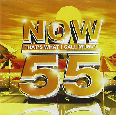 Various Artists : Now That's What I Call Music! 55 CD 2 Discs (2003) Great Value • 2.06£