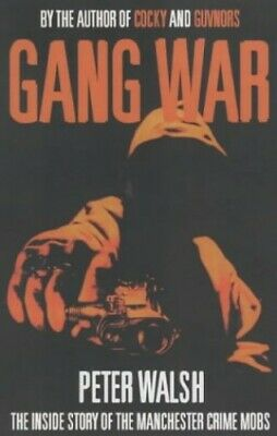 Gang War By Walsh, Peter Hardback Book The Cheap Fast Free Post • 6.99£