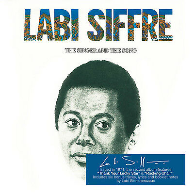 Labi Siffre : The Singer And The Song CD Album Digipak (2015) ***NEW*** • 6.94£