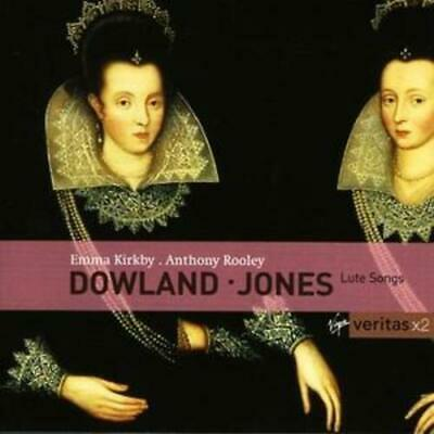 John Dowland : Dowland/Jones: Lute Songs CD 2 Discs (2004) ***NEW*** Great Value • 7.90£