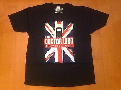 £10 • Buy Doctor Who - Official Bbc Top T Shirt - Tardis World Tour - Adult Rrp £14.99