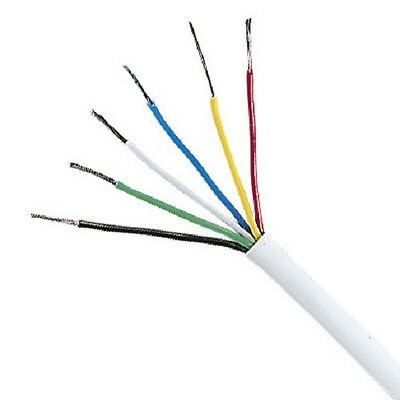 Unistrand Multicore Signal Cable 6 Core Wire Wiring (Per 3 Metres) • 1.45£