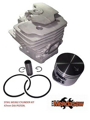 £52.99 • Buy  SPARE PARTS STIHL MS362 CHAINSAW,CYLINDER, PISTON,RINGS 47mm 1140 020 1200