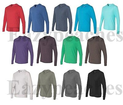 $17.95 • Buy Next Level - Tri Blend Hoodie Lightweight Pullover Hoody Mens SIZE XS-2XL, 6021