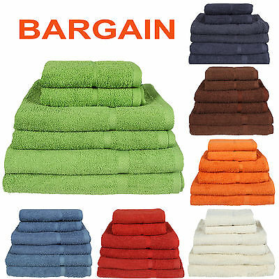 New Pack Of 2 Super Soft Egyptian Cotton  Supreme Hand Bath Sheet Towel Set Bale • 10.95£