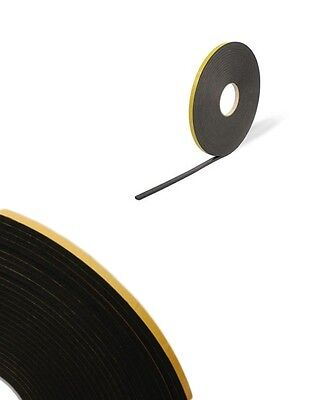 Double Sided Foam Tape - 3mm X 20m Black - Glazing Tape - Mounting / Craft Tape  • 9.25£
