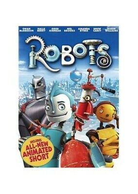 ROBOTS - ASDA EXCLUSIVE [DVD] - DVD  OAVG The Cheap Fast Free Post • 5.71£