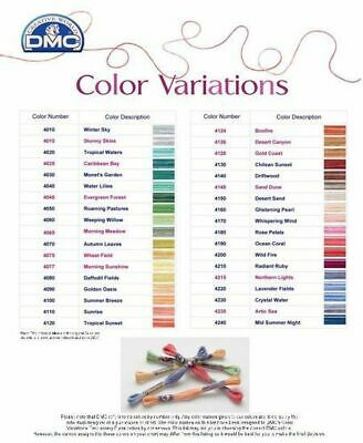AU3.95 • Buy DMC COLOR VARIATIONS THREAD 8m SKEIN, VARIEGATED EMBROIDERY FLOSS, SELECT COLOUR