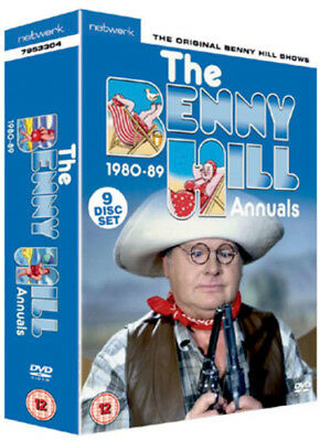 Benny Hill: The Benny Hill Annuals 1980-1989 DVD (2010) Benny Hill Cert 12 9 • 36.06£