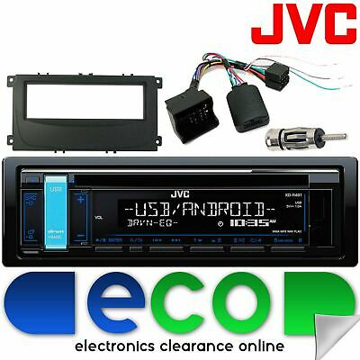 Ford Focus MK2.5 07-10 JVC CD MP3 USB Aux Ipod Car Stereo Steering Interface Kit • 134.99£