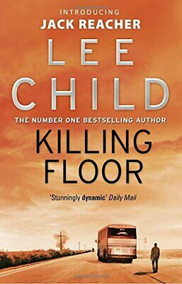 Killing Floor: (Jack Reacher 1) By Child, Lee Paperback Book The Cheap Fast Free • 4.49£