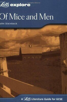 Letts GCSE Revision Success - Of Mice And Men By Steinbeck, John Paperback Book • 3.59£