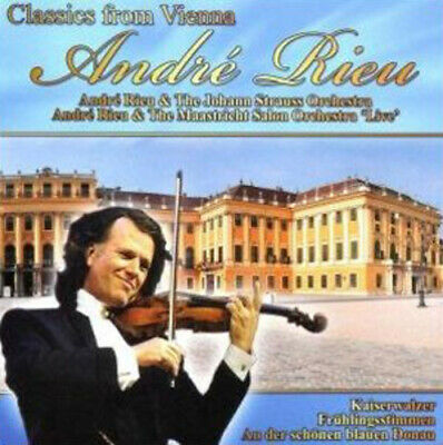 André Rieu : Andre Rieu: Classics From Vienna CD (2010) FREE Shipping, Save £s • 2.35£