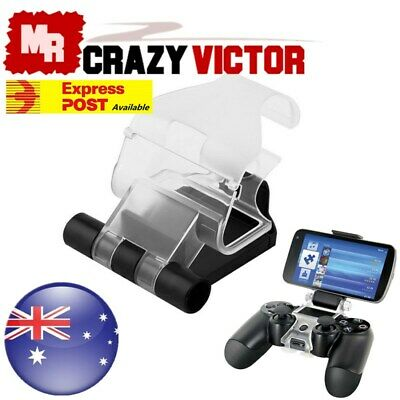 AU15.95 • Buy Android Mobile Phone IPhone Clip Clamp Holder For SONY PS4 Dualshock Controller
