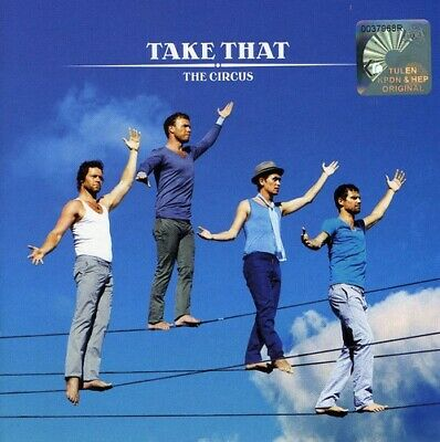 Take That : Circus CD Value Guaranteed From EBay's Biggest Seller! • 2.43£