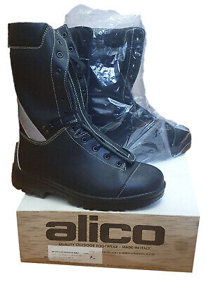 Alico 1200 Class 2 Chainsaw Protection Boots Leather Waterproof Comfy - EN345-1 • 145.95£