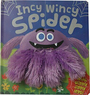 Wiggly Fingers: Incy Wincy Spider By Igloo Books Ltd Book The Cheap Fast Free • 4.49£
