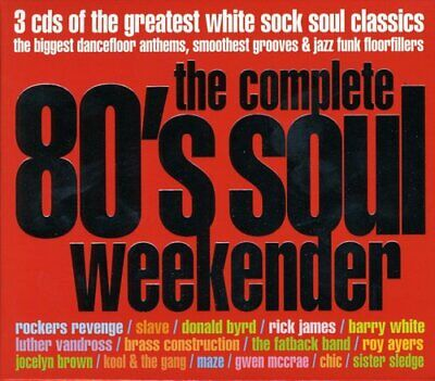 £6.27 • Buy The Complete 80's Soul Weekender CD 3 Discs (2005) Expertly Refurbished Product