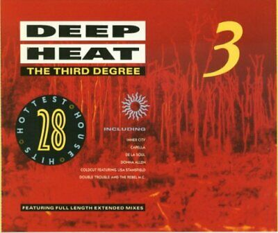 Various Artists : Deep Heat 3 - The Third Degree: 28 Hotte CD Quality Guaranteed • 4.75£