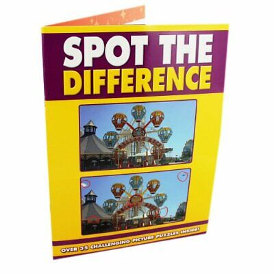 £4.49 • Buy Spot The Difference Puzzle Book Book The Cheap Fast Free Post