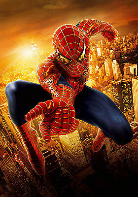THE AMAZING SPIDER MAN 2 GIANT Wall Art Poster A1,A2,A3,A4 SPID03 Kids Bedroom • 4.95£
