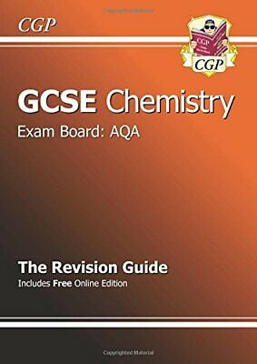 £1.99 • Buy GCSE Chemistry AQA Revision Guide (with Online Edition... By CGP Books Paperback