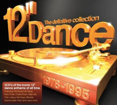 Various Artists : 12 Inch Dance: The Definitive Collection 1978-1995 CD 3 Discs • 4.39£