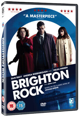 Brighton Rock DVD (2011) Helen Mirren, Joffe (DIR) Cert 15 Fast And FREE P & P • 2.31£