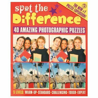 £17.99 • Buy Spot The Difference Book The Cheap Fast Free Post