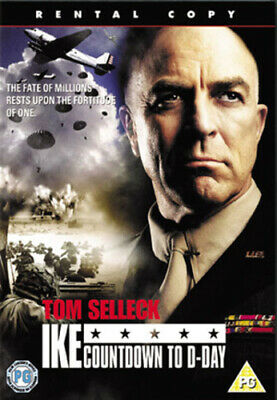 Ike - Countdown To D-Day DVD (2005) Tom Selleck, Harmon (DIR) Cert PG • 8.87£