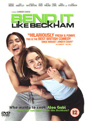 Bend It Like Beckham DVD (2002) Parminder Nagra, Chadha (DIR) Cert 12 • 2.22£