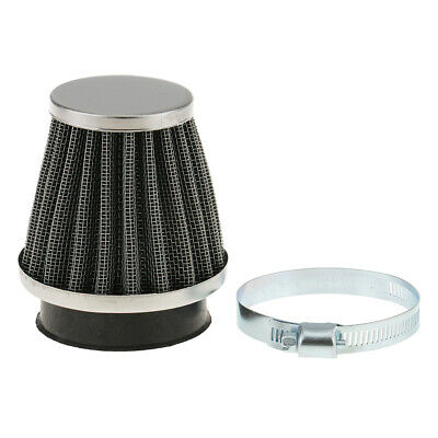 £4.97 • Buy 50mm Universal Car Motorcycle Cone Air Intake Filter Cleaner With Clamp Ring