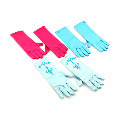 $4.99 • Buy 1 Pair Girls Kids Fancy Gloves Cosplay Princess Queen Gloves Xmas Gift Party