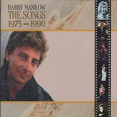 Barry Manilow : The Songs 1975-1990 CD 2 Discs (1993) FREE Shipping, Save £s • 3.97£