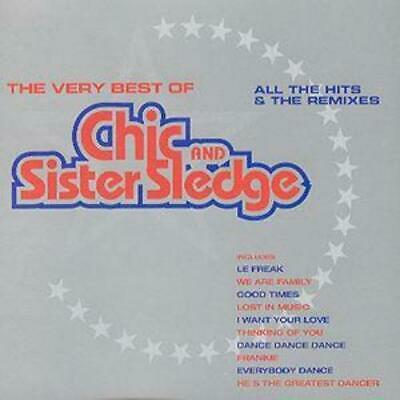 Chic And Sister Sledge : Very Best Of Chic & Sister Sledge CD (1999) Great Value • 3.48£