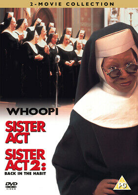 £2.50 • Buy Sister Act/Sister Act 2 - Back In The Habit DVD (2008) Whoopi Goldberg,