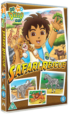 Go Diego Go!: Safari Rescue DVD (2008) Chris Gifford Cert U Fast And FREE P & P • 2.48£