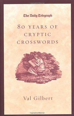 £3.20 • Buy The Daily Telegraph 80 Years Of Cryptic Crosswords By  Val Gilbert