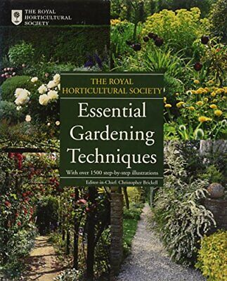 £5.49 • Buy Royal Horticultural Society: Essential Gardening Techniques Book The Cheap Fast