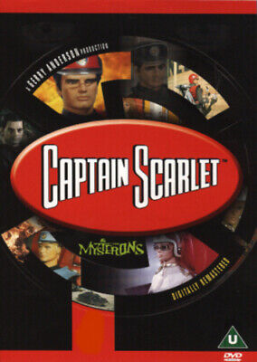 Captain Scarlet And The Mysterons: The Complete Series DVD (2001) Desmond • 12.87£